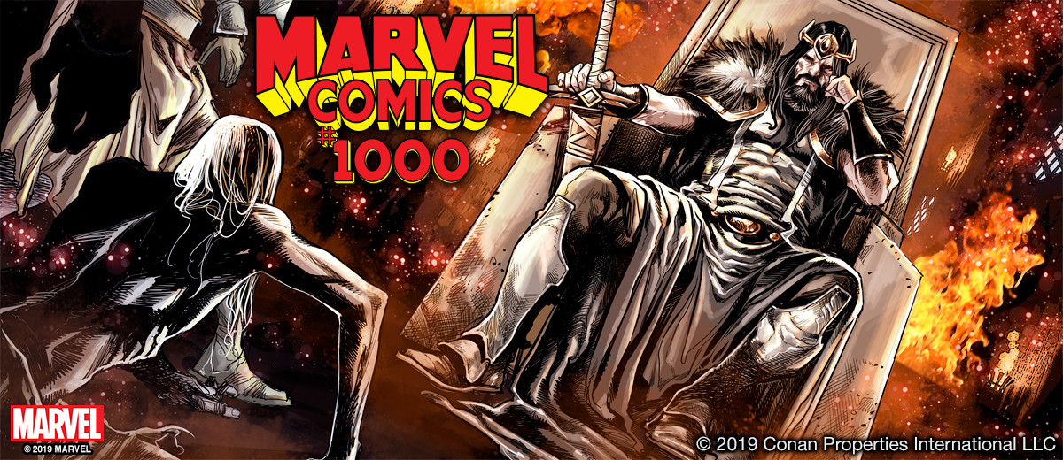 Conan to feature in Marvel Comics #1000