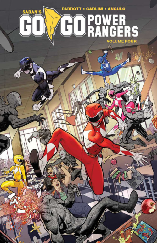 Comic Book Preview – Go Go Power Rangers Vol. 4