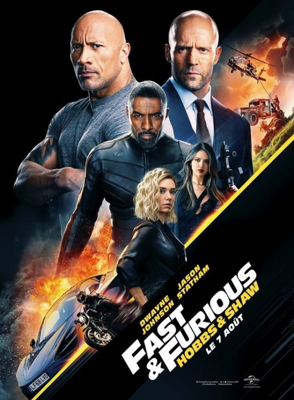 New poster for Fast & Furious Presents: Hobbs & Shaw