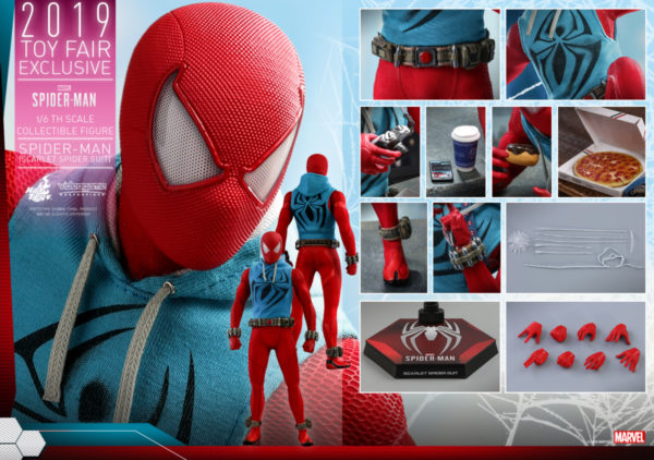 Hot-Toys-Marvel-Spider-Man-Spider-Man-Scarlet-Spider-Suit-collectible-figure_PR21-600x422