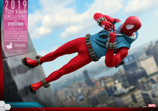 Hot-Toys-Marvel-Spider-Man-Spider-Man-Scarlet-Spider-Suit-collectible-figure_PR3-600x422