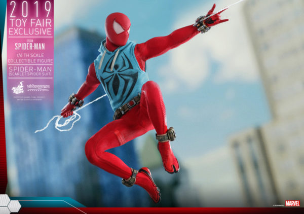 Hot-Toys-Marvel-Spider-Man-Spider-Man-Scarlet-Spider-Suit-collectible-figure_PR8-600x422