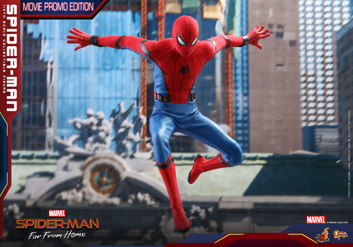 Hot Toys Reveals Spider-Man Far From Home Movie Promo Edition Collectible Figure -5131