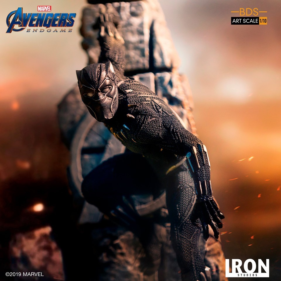 Iron Studios Debuts Its Black Panther Avengers: Endgame