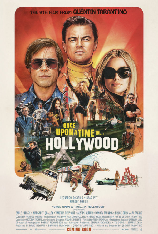 Movie Review – Once Upon a Time… in Hollywood (2019)