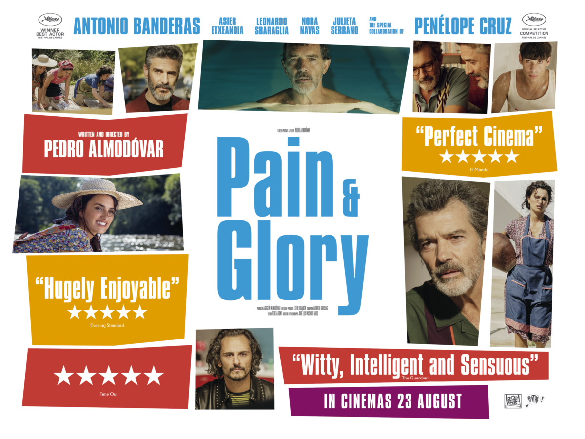 Movie Review - Pain and Glory (2019)