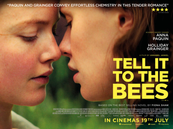Exclusive poster and UK trailer for Tell It to the Bees starring Anna Paquin and Holliday Grainger