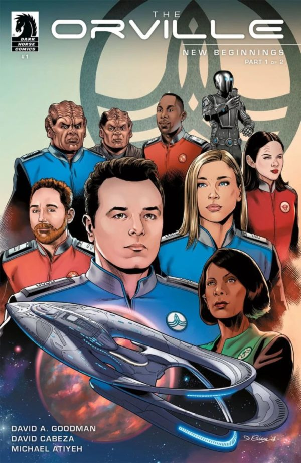 Comic Book Preview – The Orville: New Beginnings #1