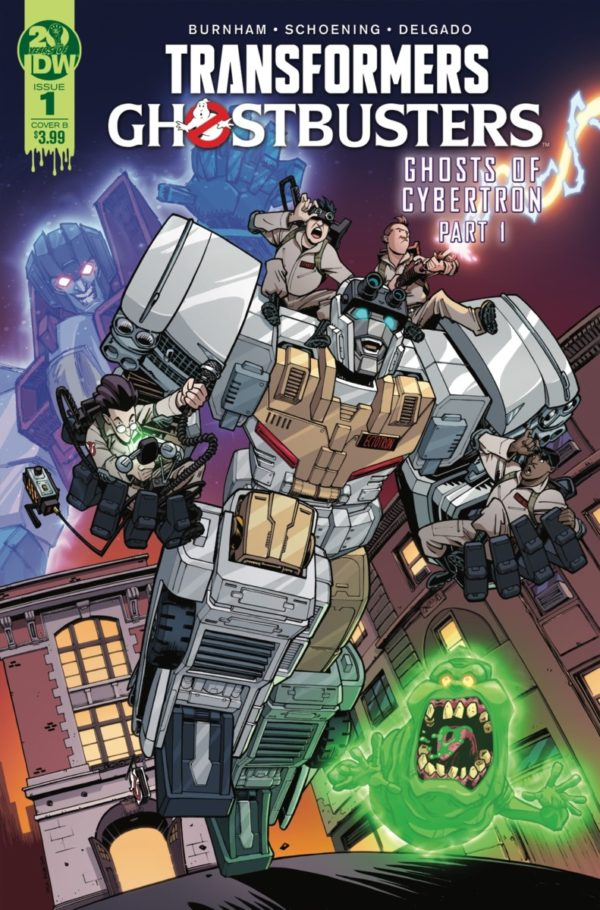 Comic Book Review – Transformers/Ghostbusters #1