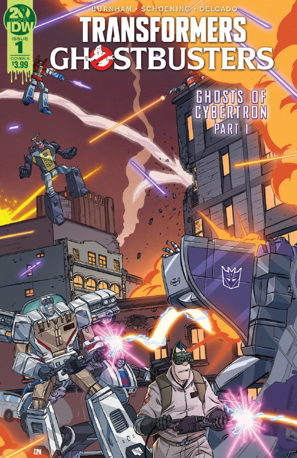 Comic Book Preview – Transformers/Ghostbusters #1