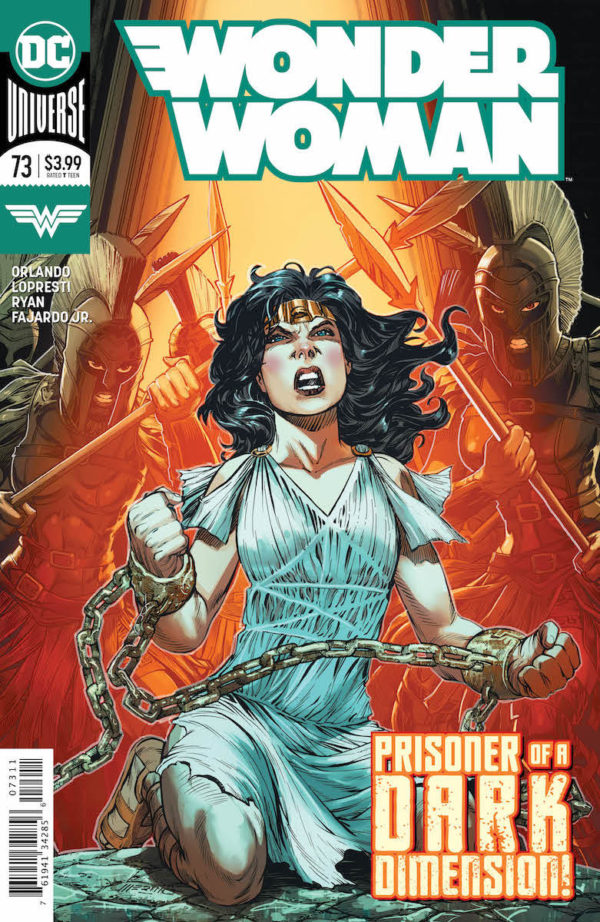 Comic Book Preview – Wonder Woman #73