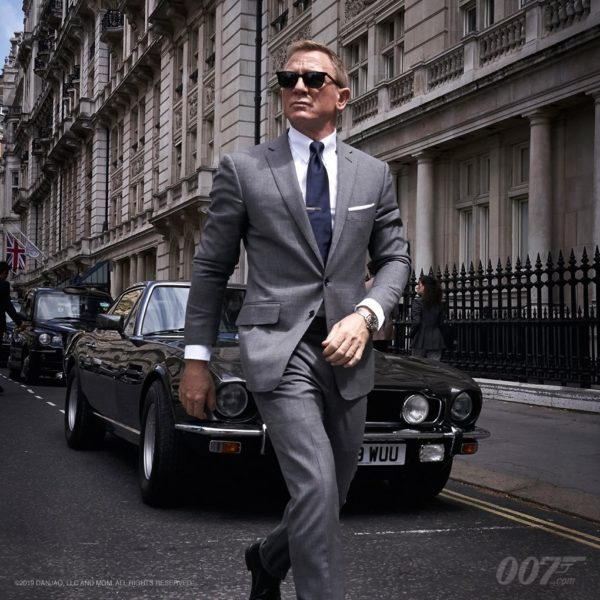 Bond 25 gets a first official image and scrapped title