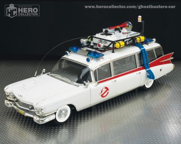 Build your own Ecto-1 with Eaglemoss Hero Collector model