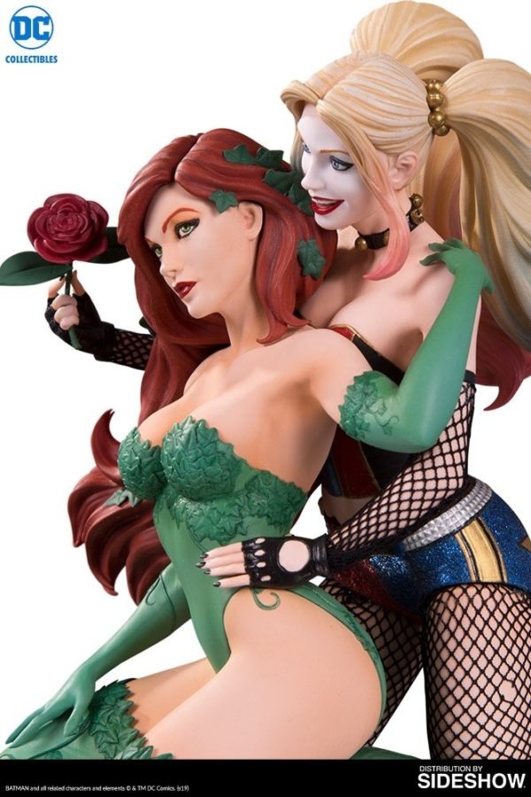DC Collectibles' Harley Quinn & Poison Ivy DC Designer Series statue available to pre-order now