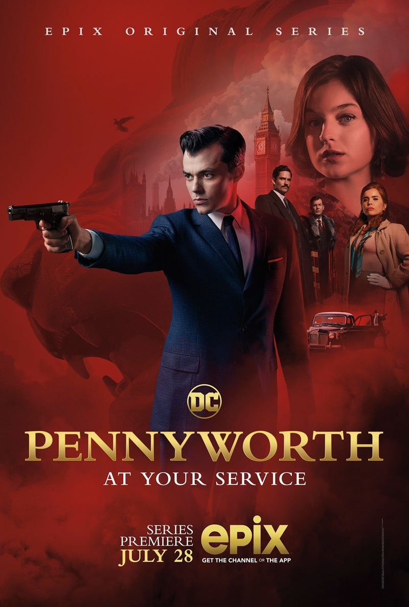 Batman prequel series Pennyworth gets a trailer and poster