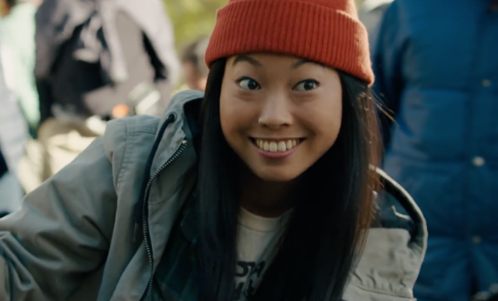 Awkwafina set for The Last Adventure of Constance Verity
