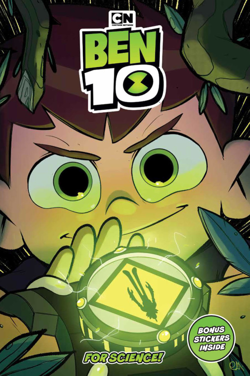 Comic Book Preview - Ben 10: For Science!