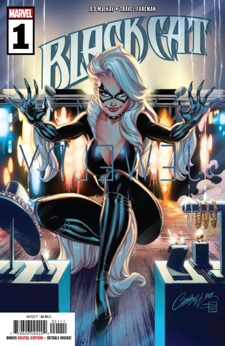 Marvel's Black Cat and Image's Die top bestselling comic books and graphic novels of June 2019