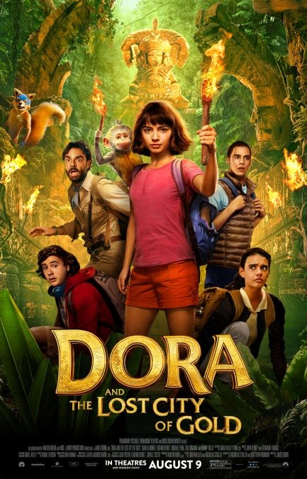 Dora and the Lost City of Gold gets a new trailer and poster