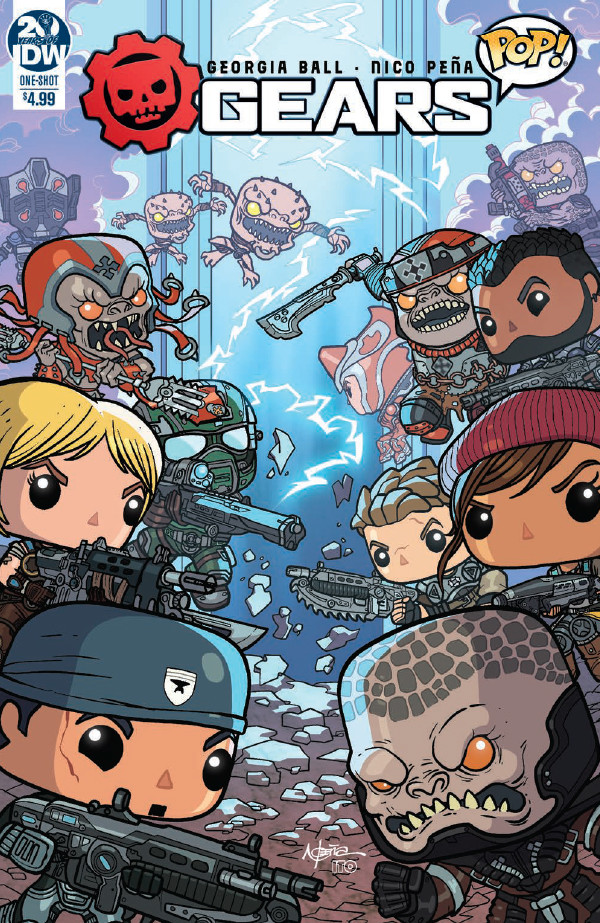 Comic Book Preview – Gears Pop! #1