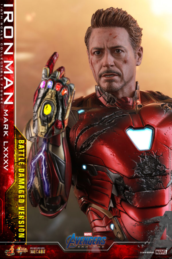 Hot Toys' Avengers: Endgame Battle Damaged Iron Man Movie Masterpiece Series figure revealed