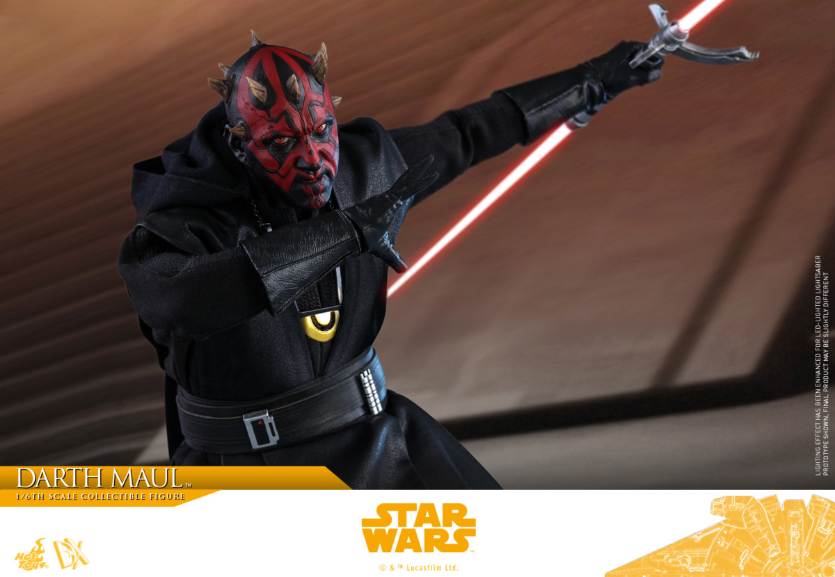 Solo: A Star Wars Story Darth Maul DX Series figure unveiled by Hot Toys