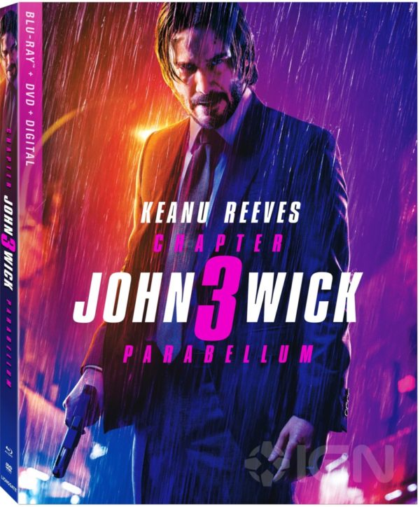 John Wick: Chapter 3 - Parabellum 4K, Blu-ray and DVD release
