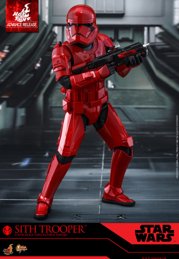 Star Wars: The Rise of Skywalker's Sith Trooper revealed through new merchandise