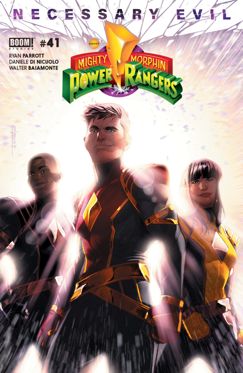 Comic Book Preview – Mighty Morphin Power Rangers #41