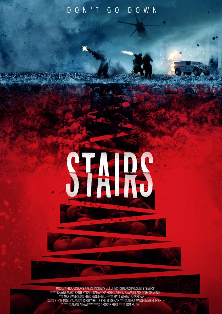 Time-travel action horror Stairs gets a red band trailer and poster ahead of FrightFest premiere