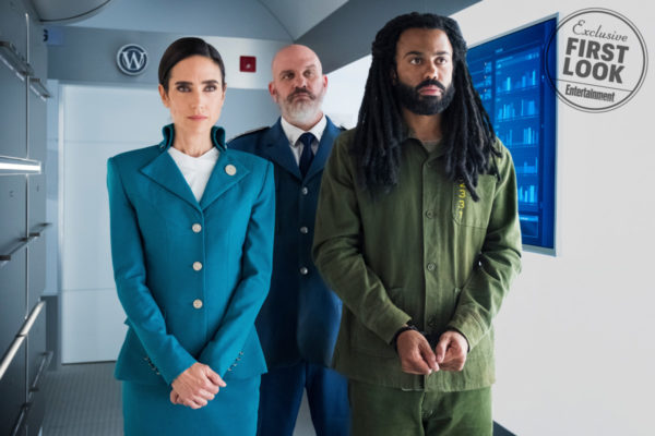First-look images from Snowpiercer TV series featuring Jennifer Connelly and Daveed Diggs