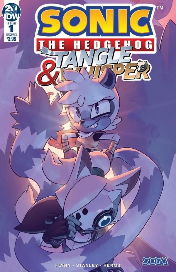 Comic Book Preview – Sonic the Hedgehog: Tangle & Whisper #1