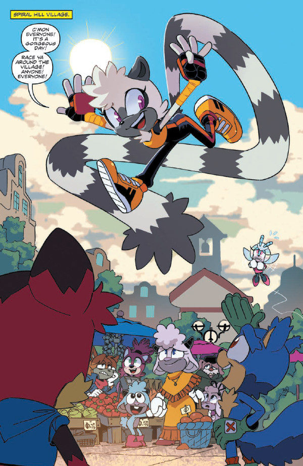 Comic Book Preview Sonic The Hedgehog Tangle Whisper 1
