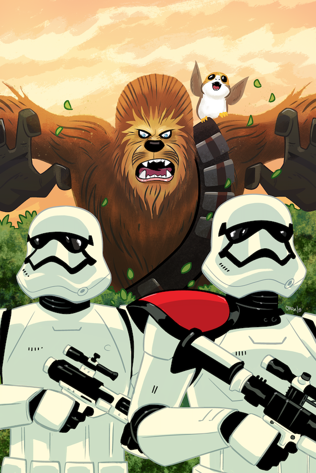 The Journey to Star Wars: The Rise of Skywalker begins with Star Wars Adventures #27