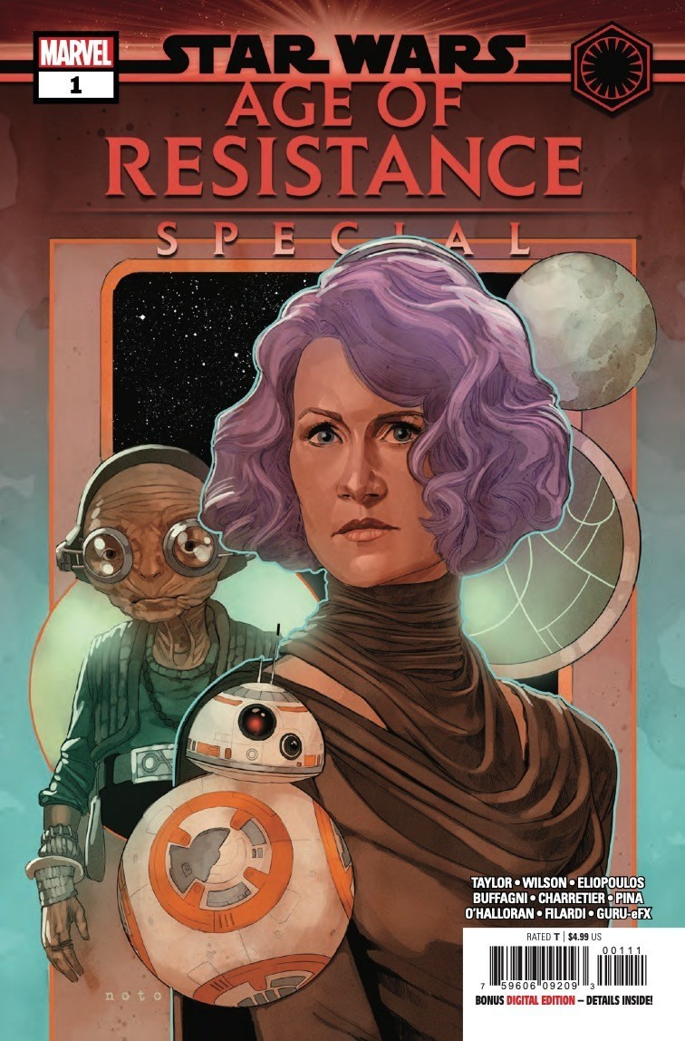 Comic Book Preview – Star Wars: Age of Resistance Special #1