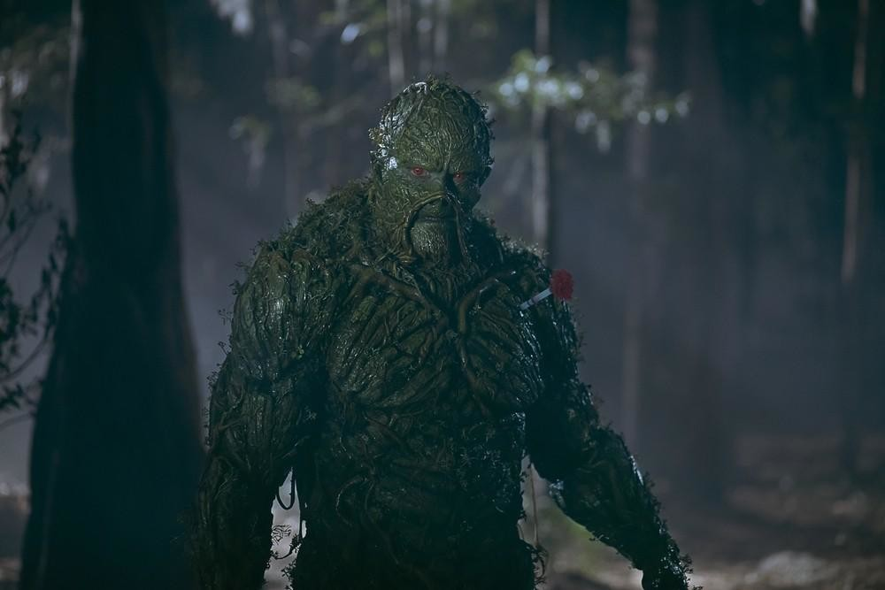 James Wan shares Swamp Thing behind-the-scenes video