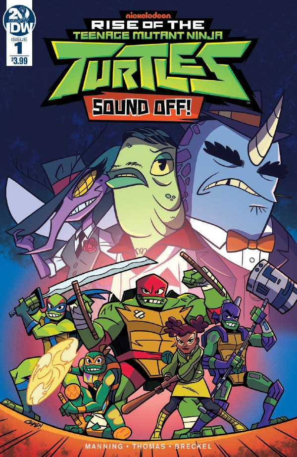 Comic Book Preview – TMNT: Rise of the Teenage Mutant Ninja Turtles: Sound Off! #1