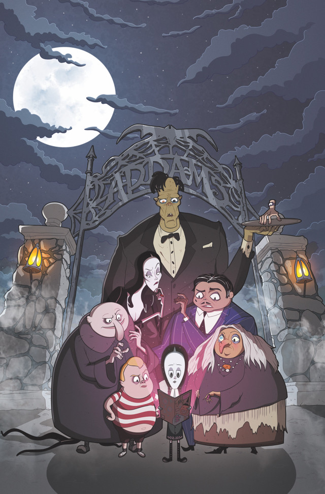 IDW gets spooky with The Addams Family The Bodies Issue