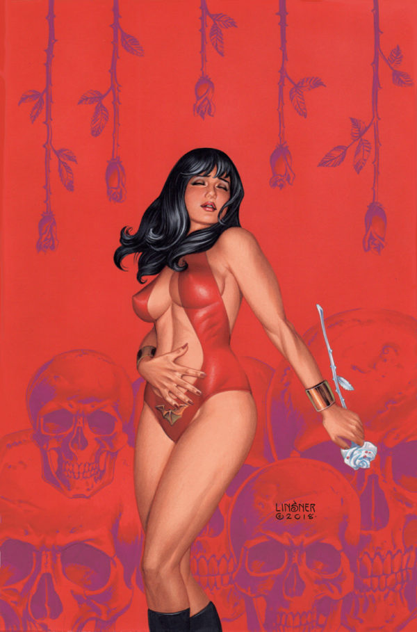 The Art of Vampirella 50th Anniversary Poster Book announced by Dynamite