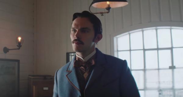 The Current War clip sees Nicholas Hoult as Nikola Tesla