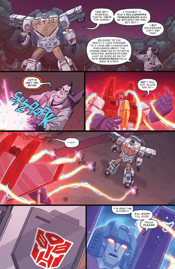 Comic Book Review – Transformers/Ghostbusters #2