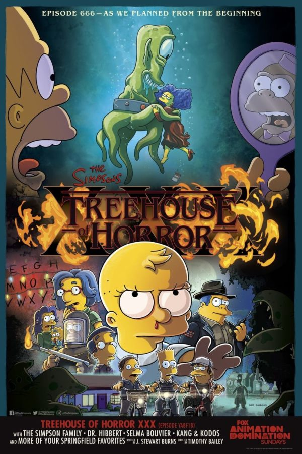 The Simpsons to spoof Stranger Things and The Shape of Water with Treehouse of Horror XXX