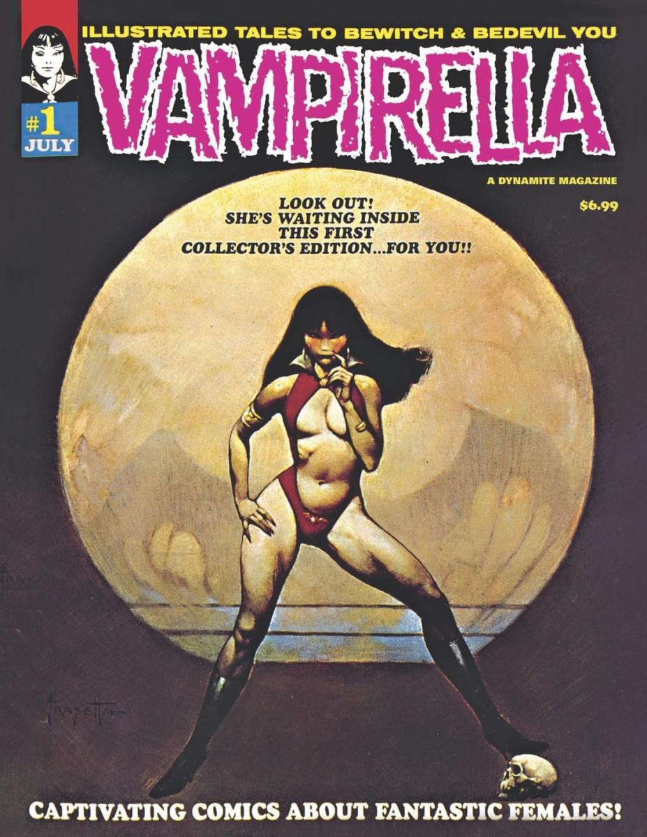 Comic Book Preview – Vampirella #1 1969 Replica Edition
