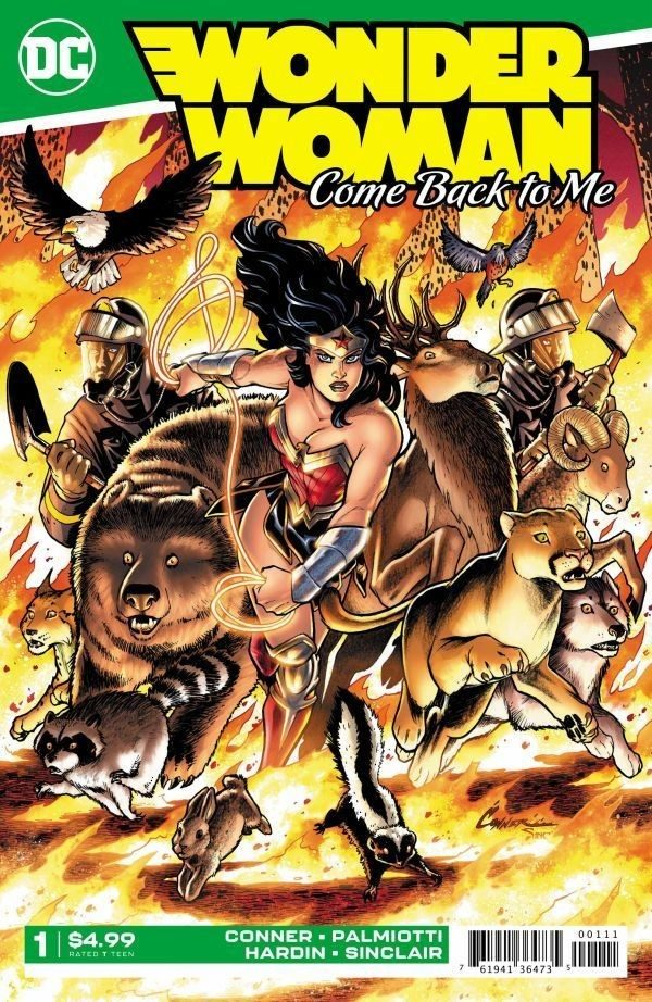 Comic Book Preview – Wonder Woman Come Back to Me #1