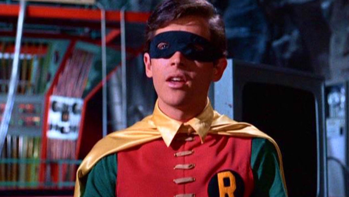 Crisis on Infinite Earths set photo features Burt Ward