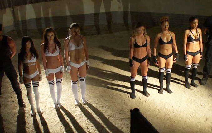 Strippers get ready for fight night in exclusive Kiss Kiss clip