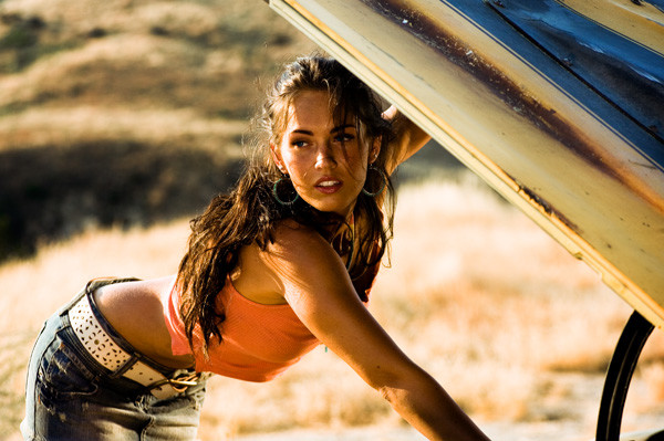 Transformers: A reminder that Megan Fox auditioned for the movie by washing Michael Bay's car while he filmed it