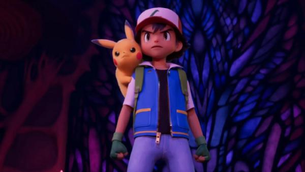 Pokemon First Movie Mewtwo Strikes Back 1998