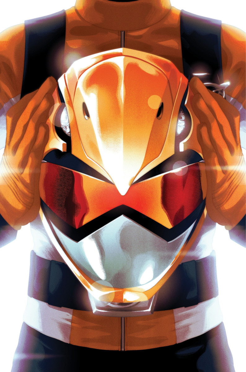Mighty Morphin Power Rangers #40 gets a SDCC variant cover