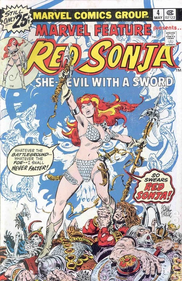 red-sonja-frank-thorne-marvel-feature-4-cover-600x929